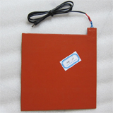 "PK-12V-S: Silicone Rubber Heating System for Car, Food Take out Heating System, 12V/80W, Size: 9"" x9"""