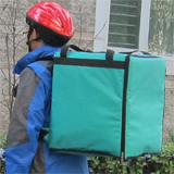 PK-76G: Pizza Delivery Bags, Heat Insulated Driver Backpack, Thermal Food Boxes, 16
