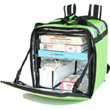 PK-76LG: Big Pizza Delivery Backpack, Thermal Food Delivery Bags, Keep Hot/Cool, 16