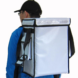 PK-33VW: Catering Delivery Food Bag, Warmer Backpack, Top Loading, 13