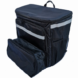 PK-70U: Extendable Pizza Delivery Bag, Flexible Food Delivery Rucksacks, Big Capacity Carrier with Light Weight