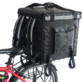 PK-92V: Large Rigid Heavy Duty Food Delivery Box for Motorcycle, Top Open, 18