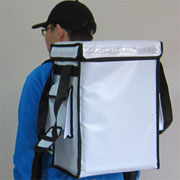 PK-33VW: Catering Delivery Food Bag, Warmer Backpack, Top Loading