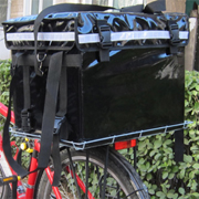 PK-46B: Food Delivery Box For Scooter/Bike with Best Performance and Rigid Basket