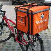 PK-64C: On Scooter Pizza Delivery Backpack, Food Box for Bike, Carry Bag