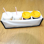 PK-HOLDER-S1: Beverage Holder, Drink Cup, Avoid Liquid Food Spilling